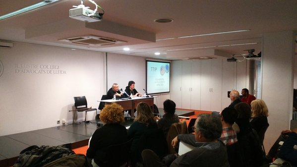 ~ Èxit d'assistència, de participació i de crítica al TTIP per J.M.Busqueta